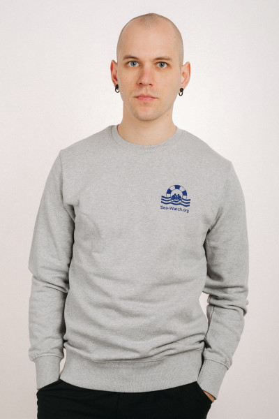 Sweater Sea Watch Mini Logo Unisex Grey