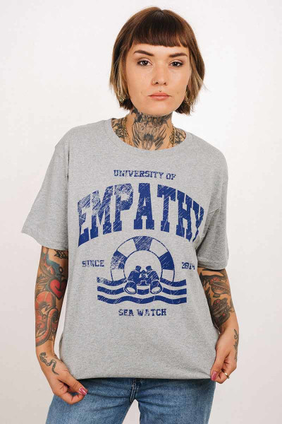 T-Shirt Empathy Unisex Grey